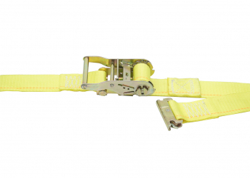 Logistic Strap With Ratchet Buckle & spring Loaded Fittings